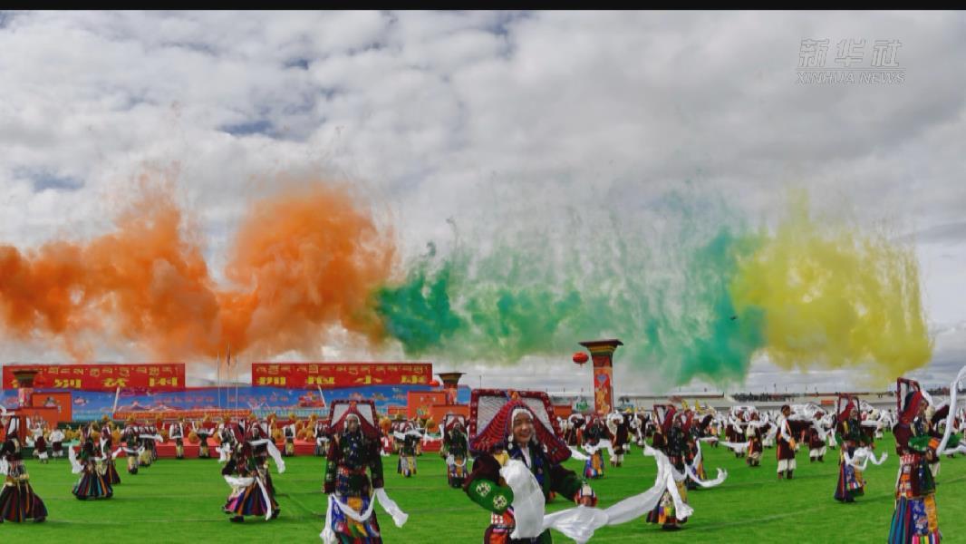 【微視頻】2020年那曲羌塘恰青格薩爾賽馬藝術節開幕