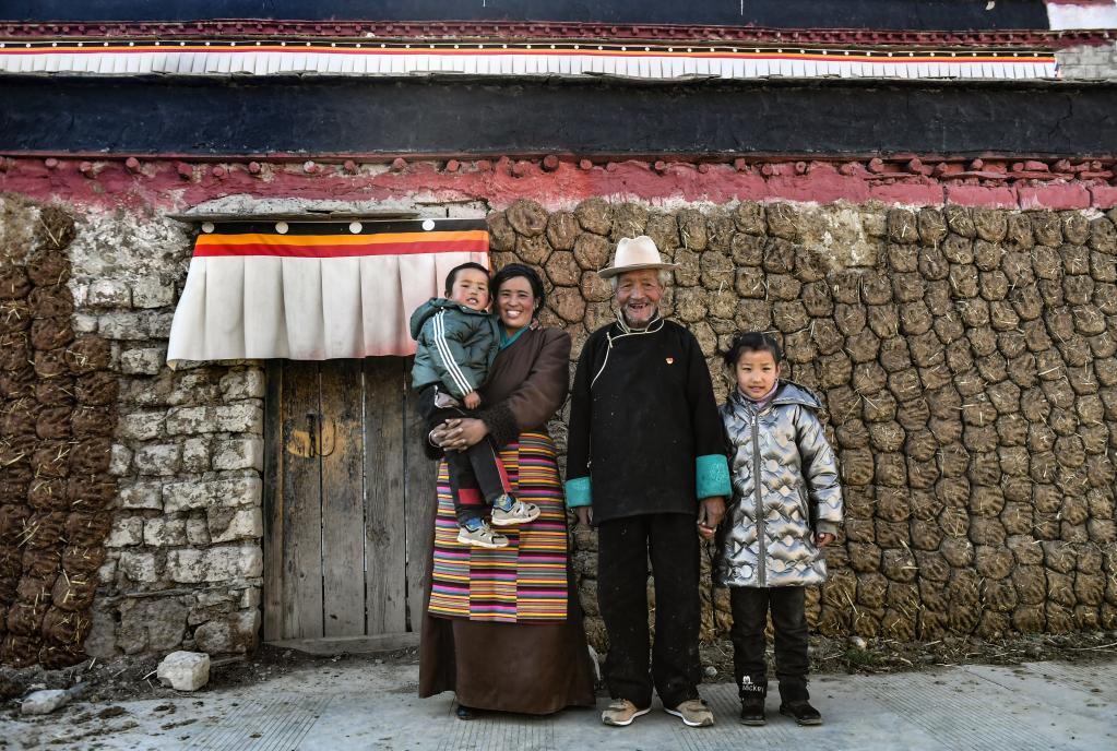 苦難和新生——西藏翻身農奴影像檔案:達國傑
