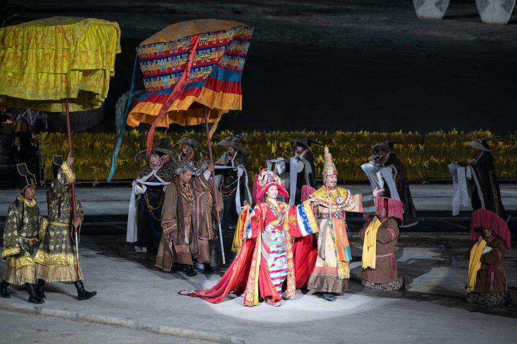 大型實景劇《文成公主》舉行2021年首演