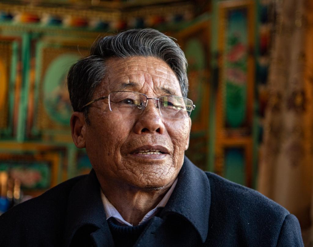 苦難和新生——西藏翻身農奴影像檔案:洛松朗加